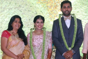 Aadhav and Vinodhnie Reception