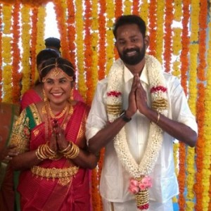 Actor Ramesh Thilak and Navalakshmi Wedding