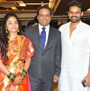 Comedian Harish Koyalagundla Wedding Reception