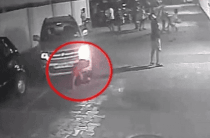 boy miraculously survives after being run over by car