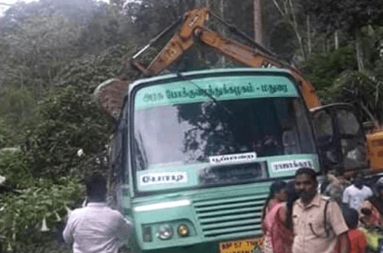 JCB driver saves more than 80 passengers from bus