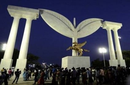 Madras High-court banned to open MGR 100th yr memorial arch at marina