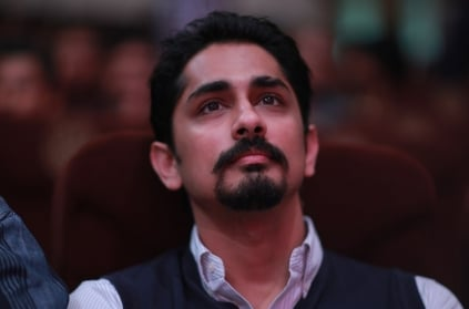 "Actor Siddarth mocks ""Anti-social elements"" remark"