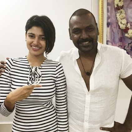 Bigg Boss Oviya completes 90 percent of her shoot for Raghava Lawrence's Kanchana 3