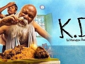 Woah! Superhit movie KD (a) Karuppudurai is coming to your home on this channel! Check details here
