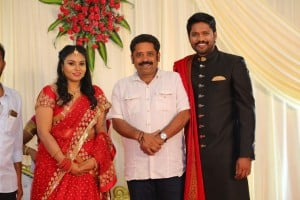 Actor Soundararaja - Tamanna Wedding Reception