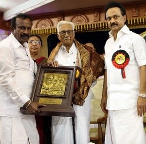 Stalin at DMK's Regional Conference in Erode
