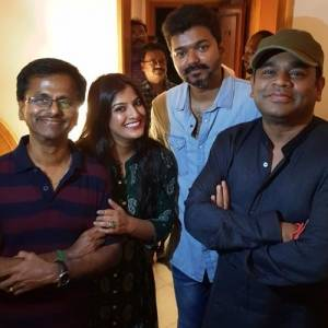 Sarkar success meet photos
